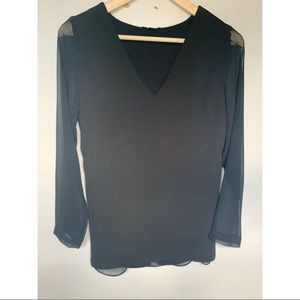 Dynamite black blouse